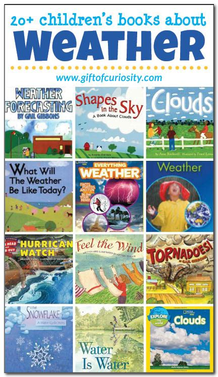 books about weather for preschoolers 20 books about the weather for gift of curiosity 635