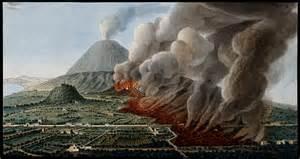 Image result for Mount Vesuvius erupted