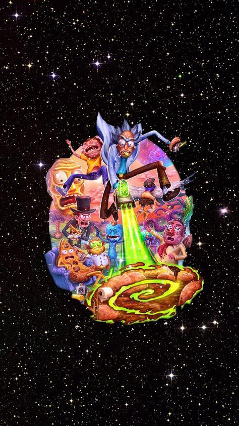 Cartoon network background, cartoon network doodle art, cartoons. Wallpaper Rick And Morty Cartoon Network iPhone   2020 3D iPhone Wallpaper