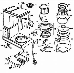 black decker coffee maker parts model dcm12wl sears With small home coffee maker wiring diagram