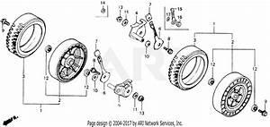 Honda Hr194 Sxa Lawn Mower  Jpn  Vin  Hr194 21front Wheel