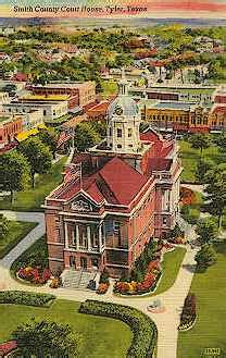 tyler texas historic postcard collection government