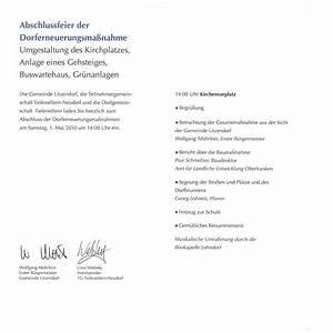 Einladung Zur Einweihung : webseite von tiefenellern ~ Lizthompson.info Haus und Dekorationen