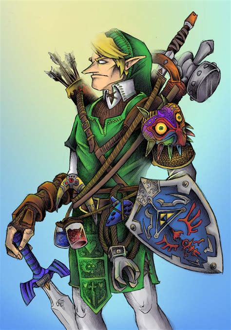 Link Legend Of Zelda Fan Art