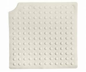 tapis de douche carre antiderapant 54 cm herdegen With tapis de douche