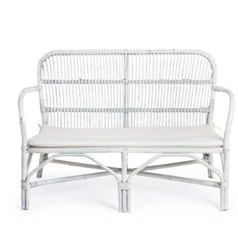 divanetto in rattan divanetto rattan bianco shabby mobili etnici provenzali