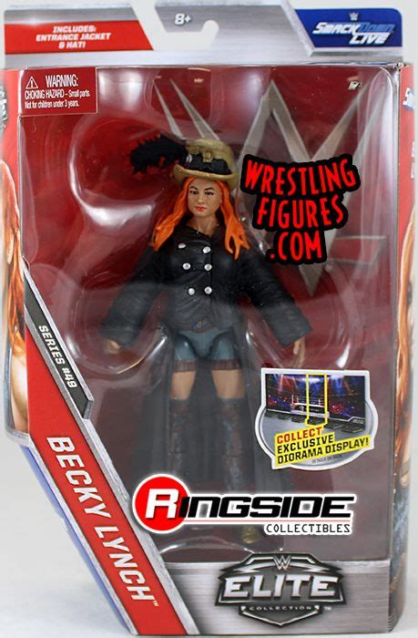 becky lynch wwe elite  wwe toy wrestling action figure