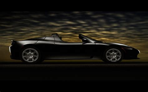 tesla roadster black wallpaper tesla cars wallpapers