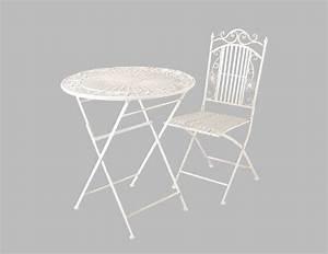 Runder Tisch Mit Stühlen : sitzgruppe rom runder tisch mit 2 st hlen metall gartengarnitur gartenm bel g nstig kaufen ~ Frokenaadalensverden.com Haus und Dekorationen