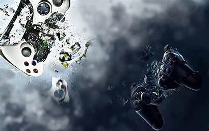 Xbox Ps3 Control Wallpapers Playstation Controller Games