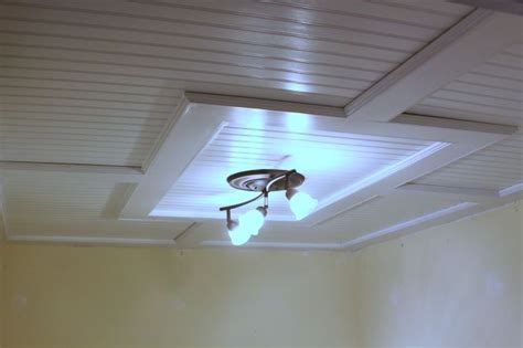 Beadboard Ceiling Diy : Beadboard Drop Ceiling