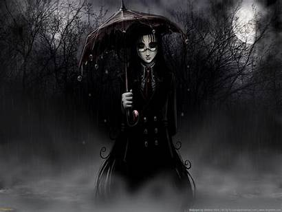 Gothic Dark Wallpapers Goth Creepy Scary Anime