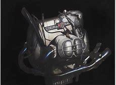 Tshirt moto vintage avec moteur de BMW Flat twin R90S NOIR