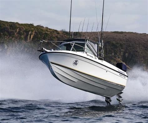 bass strait offshore  review trade boats australia