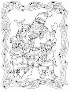 1000 images about christmas coloring for adults 2 on With courtesy light