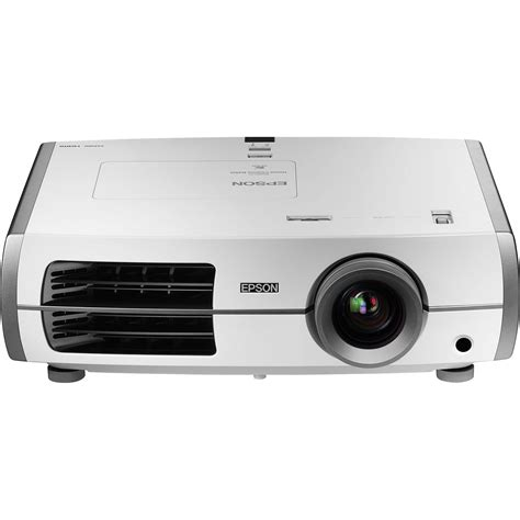 Epson 8350 L And Temp Light by Epson Powerlite 8350 Home Cinema Projector V11h373120 B H
