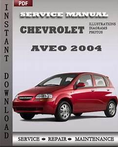 Chevrolet Aveo 2004 Service Manual Download