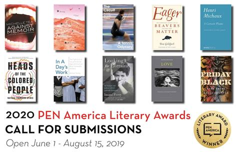 literary awards america