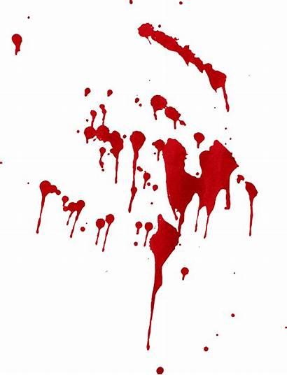 Blood Splatter Transparent Drip Splash Splat Dripping