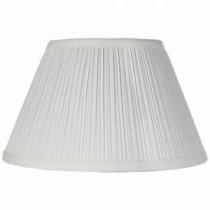 downbridge antique white pleated shade 65x12x75 uno With white downbridge floor lamp
