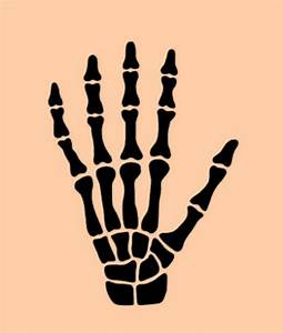Skeleton, Hand, Stencil, Stencils, Template, Craft, By, Sunflower33