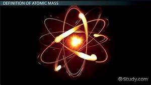 What Is Atomic Mass  - Definition  U0026 Examples