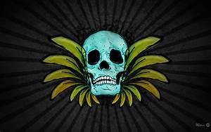 Wallpaper Skull by MarinDesign on DeviantArt