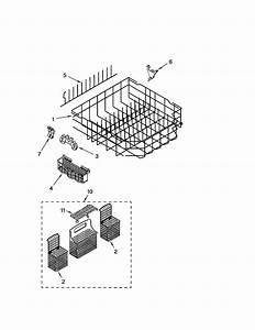Kenmore 66517462300 Dishwasher Parts