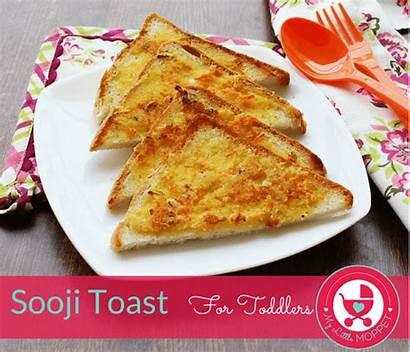 Toast Breakfast Easy Suji Toddlers Ingredients Sooji