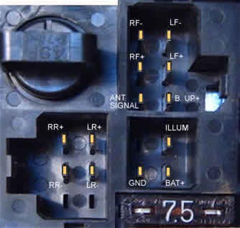 nissan car radio stereo audio wiring diagram autoradio