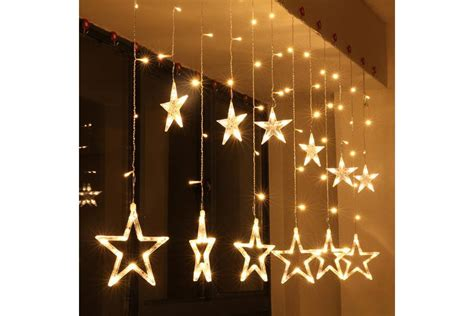 Christmas Lights Fairy Star Led Curtain String From Blinkingsilver On Tindie How To Sew Tab Top Curtains With Lining Dollar And Blinds Canberra Reviews White Block Out Light 12 Shower Curtain Rod Ceiling Support Open Rings Where Mount On Wall High Should I Rods Hookless Canada