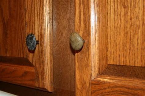 cynthia rae diy natural rock drawer pulls