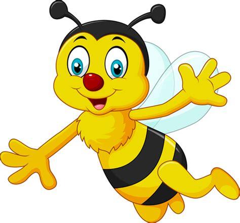 cute bee cartoon vector illustration