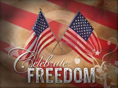 celebrate freedom independence day powerpoints