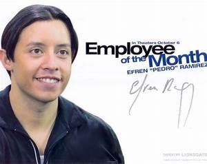 Efren Ramirez autographed Employee of the Month 8x10 photo ...