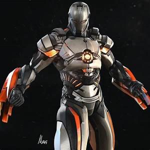 ArtStation - Iron-Man : Mark 101, mars ...