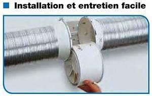 Extracteur D Air Electrique : unelvent td160 100t extracteur d 39 air conduit 250810 td 160 ~ Premium-room.com Idées de Décoration