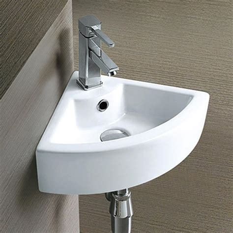 Toilets And Basins For Small Bathrooms by 42 Small Corner Sinks For Cloakrooms Home Decor