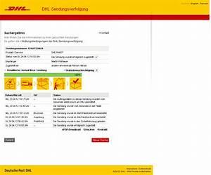 Dhl Paketverfolgung Ohne Nummer : martin wohlauer online dhl verarsche ~ Markanthonyermac.com Haus und Dekorationen