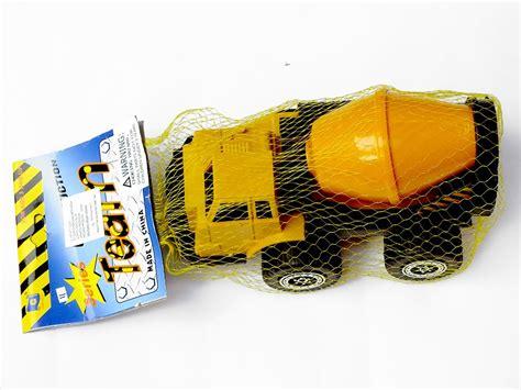jual mainan truk molen kuning car construction series di