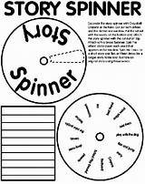 Spinner Story Coloring Crayola Writing Pages Creative Word Crayons Short Narrative Words Spin Way Write Wheel Colored Print Pencils Cut sketch template