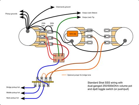 hi i m new 250k 500k dual pot w s 1 switch guitarnutz 2