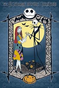 NIGHTMARE BEFORE CHRISTMAS - jack and sally Poster   Sold ...