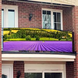 Balkon Sichtschutz Gras : balkon sichtschutz provence von g rtner p tschke ~ Michelbontemps.com Haus und Dekorationen