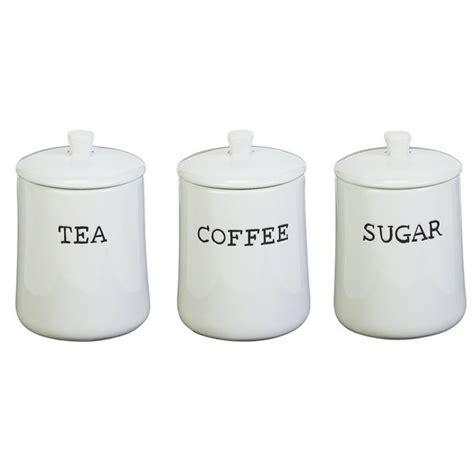 Buy HOME New York Set of 3 Ceramic Storage Jars at Argos