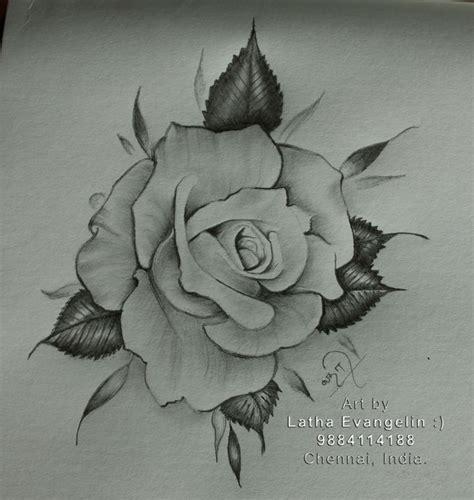 rose realistic drawing rose roses rosetattoo