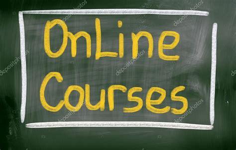 Online Courses Concept — Stock Photo © Nevenova #61626645