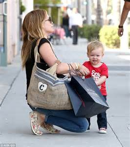 Hilary Duff's son Luca is steady feet after celebrating ...