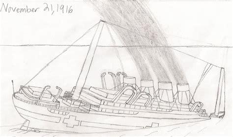 britannic sinking by dragonmaster616 on deviantart