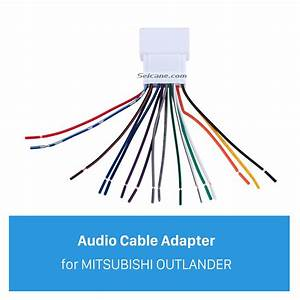 Car Stereo Wiring Harness Plug Adapter Audio Cable For